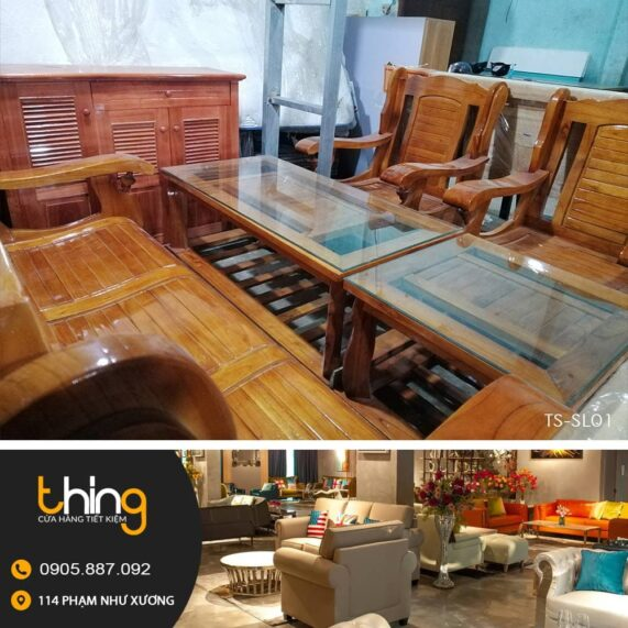 salon Đài Loan gỗ xoan
