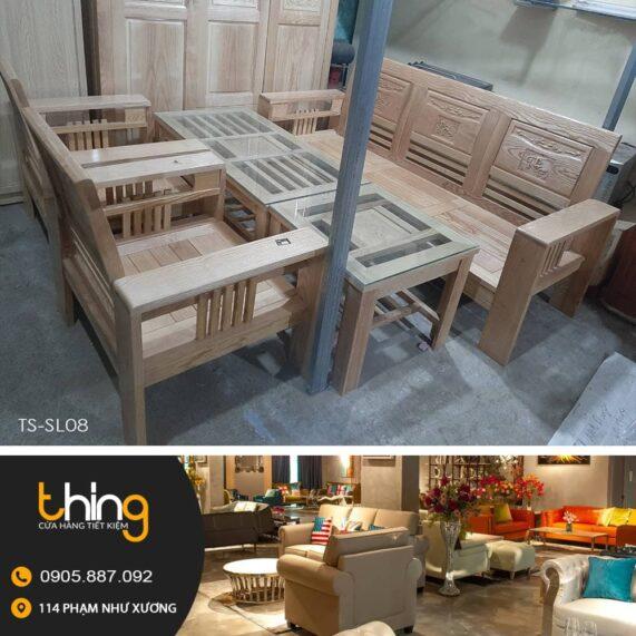 salon gỗ Sồi giá rẻ tại Đà Nẵng