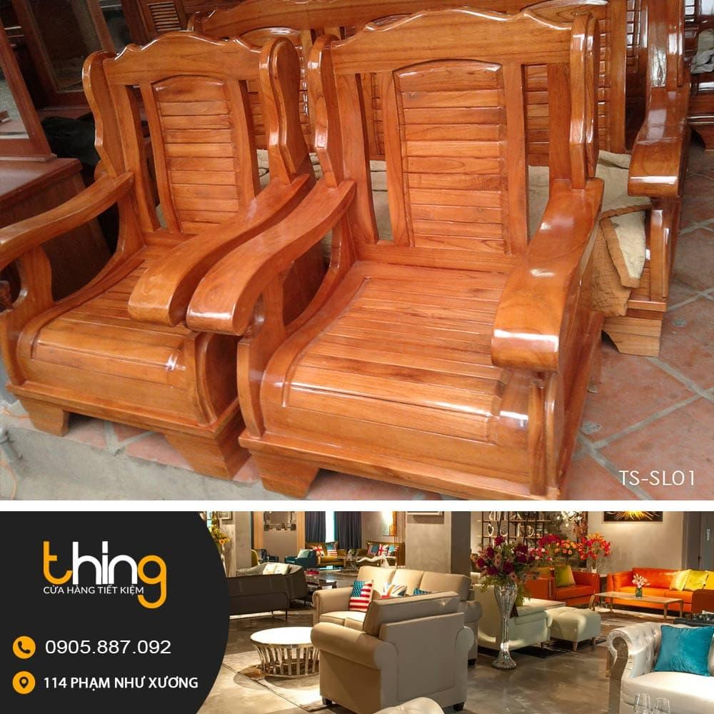 salon gỗ Đài Loan xoan