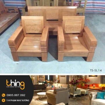salon tay vát gỗ Sồi