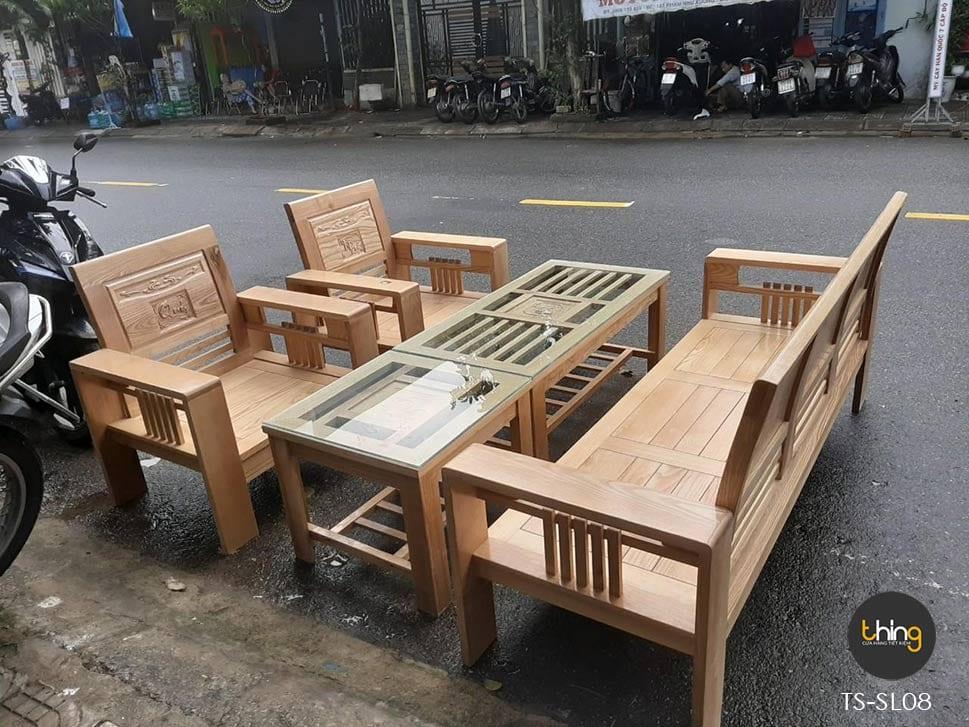 salon Phúc Lộc Thọ gỗ Sồi
