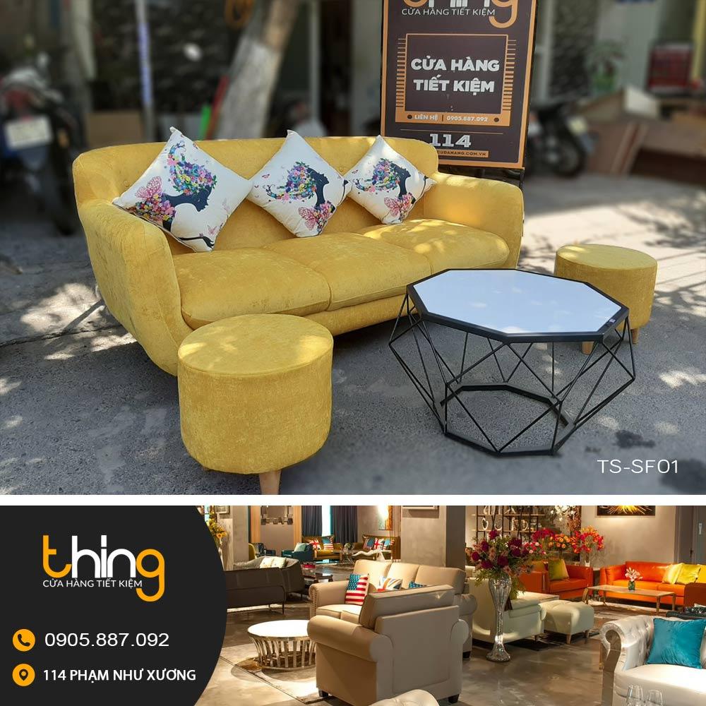 Sofa Gia Re Mau Vang