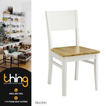 ghế cherry sơn trắng giá rẻ