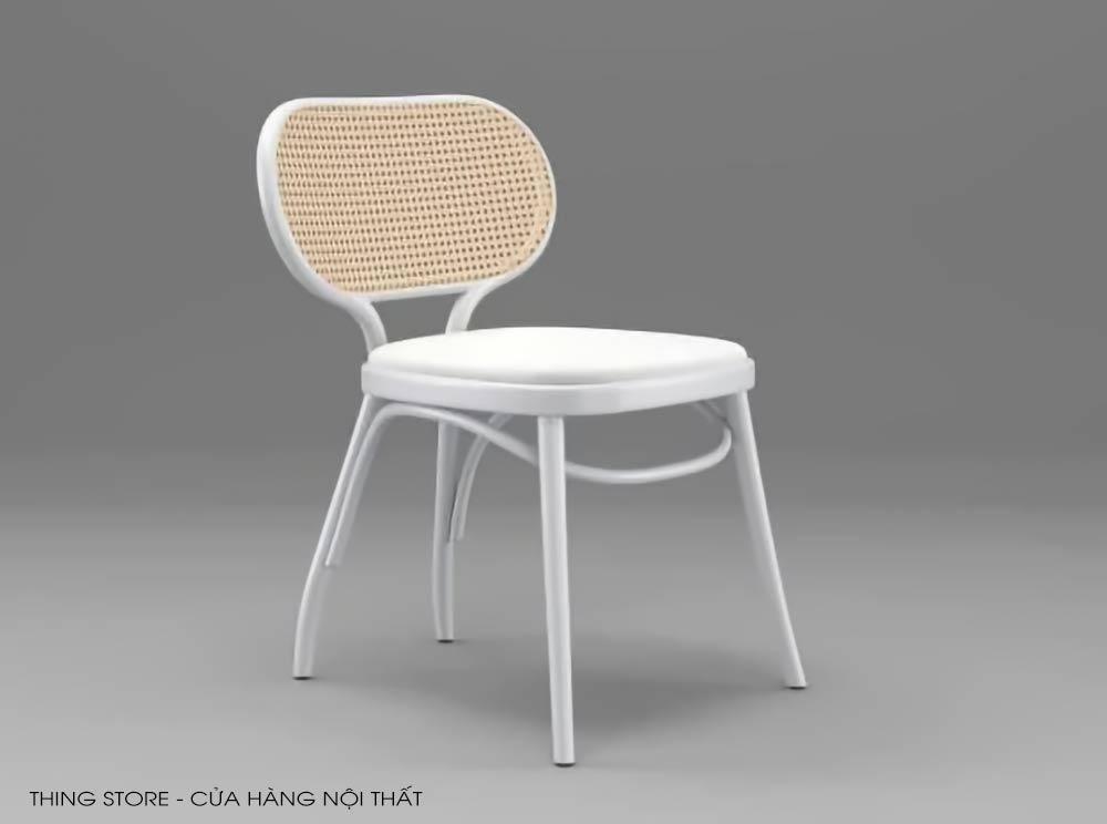 ghế Vienna Thonet màu trắng